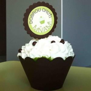 Obal na dortík ( cupcake) - I