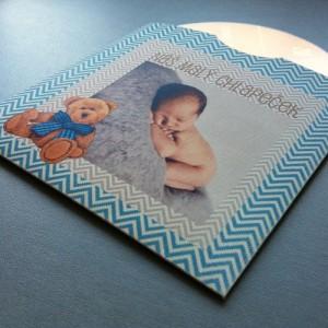 OBAL na CD/DVD na první fotky miminka