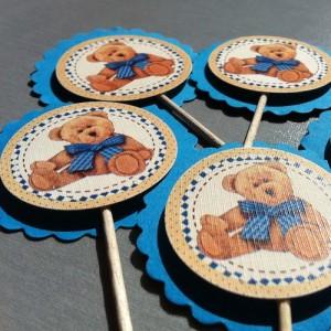 Zápichy na dětskou party - MEDVÍDEK