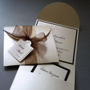 Svatební oznámení - CHOCO&CREME