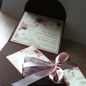 Svatební oznámení - Čokoladové pokušení II.