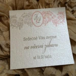 Kartičky - pozvání ke svat. stolu -Surprise