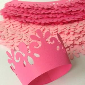 Obal na cupcake -PINK - I