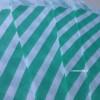 Papírový sáček - pruhy 10 ks - Mint