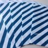 Papírový sáček - pruhy 10 ks - Modrá
