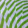 Papírový sáček - pruhy 10 ks - Zelená
