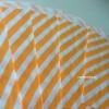 Papírový sáček - pruhy 10 ks - Orange