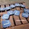 girlanda LOVE IS SWEET
