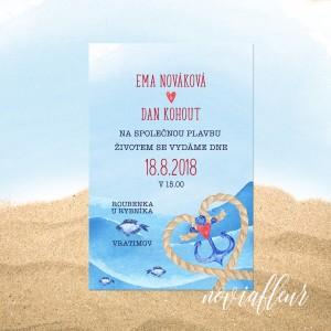 svatební oznámení No. SEA