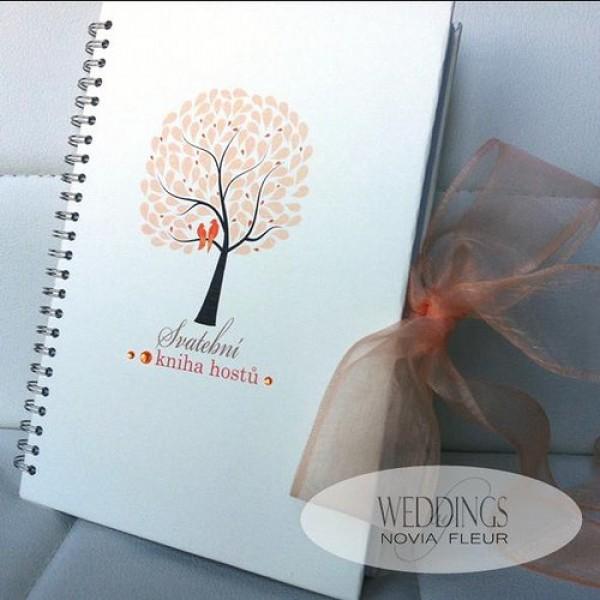 Svatební kniha - STROM LÁSKY